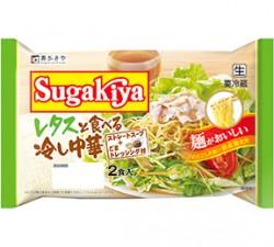 Sugakiyaレタスと食べる冷し中華2食