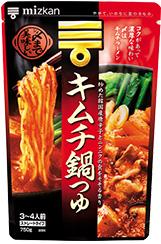 〆まで美味しい キムチ鍋つゆ ストレート