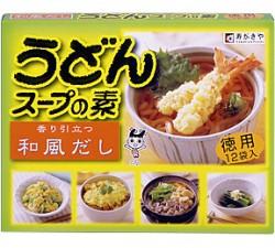 12P徳用うどんスープ:かんたんに美味しいうどんが楽しめるスープの素♪ 煮物の味付けにも。