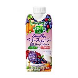 カゴメ 野菜生活100 Smoothie ベリースムージー 豆乳ヨーグルトMix