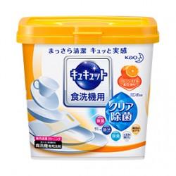 食器洗い乾燥機専用キュキュット クエン酸効果 オレンジオイル配合 [ボックス]