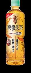 爽健美茶 健康素材の麦茶 600ml PET:体についた脂肪を減らす