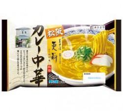 松阪生そば更科監修 カレー中華2食