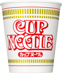 カップヌードル:世界初のカップ麺!
