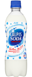 「カルピスソーダ」PET500ml