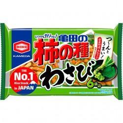 182g 亀田の柿の種 わさび 6袋詰